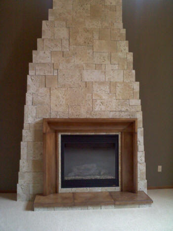 His craftsmanship was outstanding. His work included framing and stone work on the fireplace