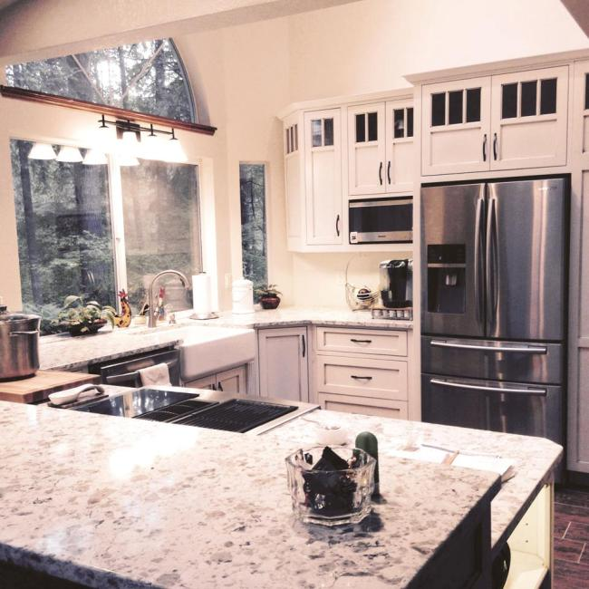 Read more: Port Orchard Kitchen Remodel with Wood Flooring
