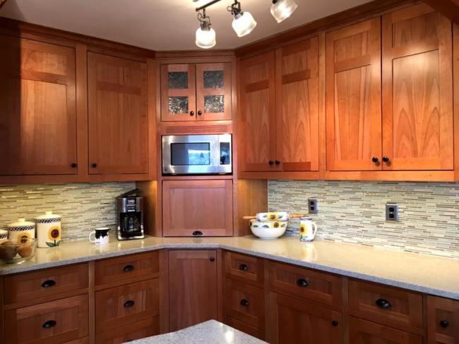 Port Orchard Kitchen Remodel With Custom Eucalyptus Wood